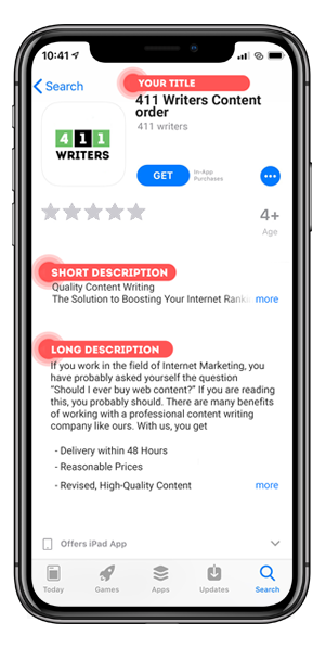 Order App Store Optimized Content With Just A Few Clicks
